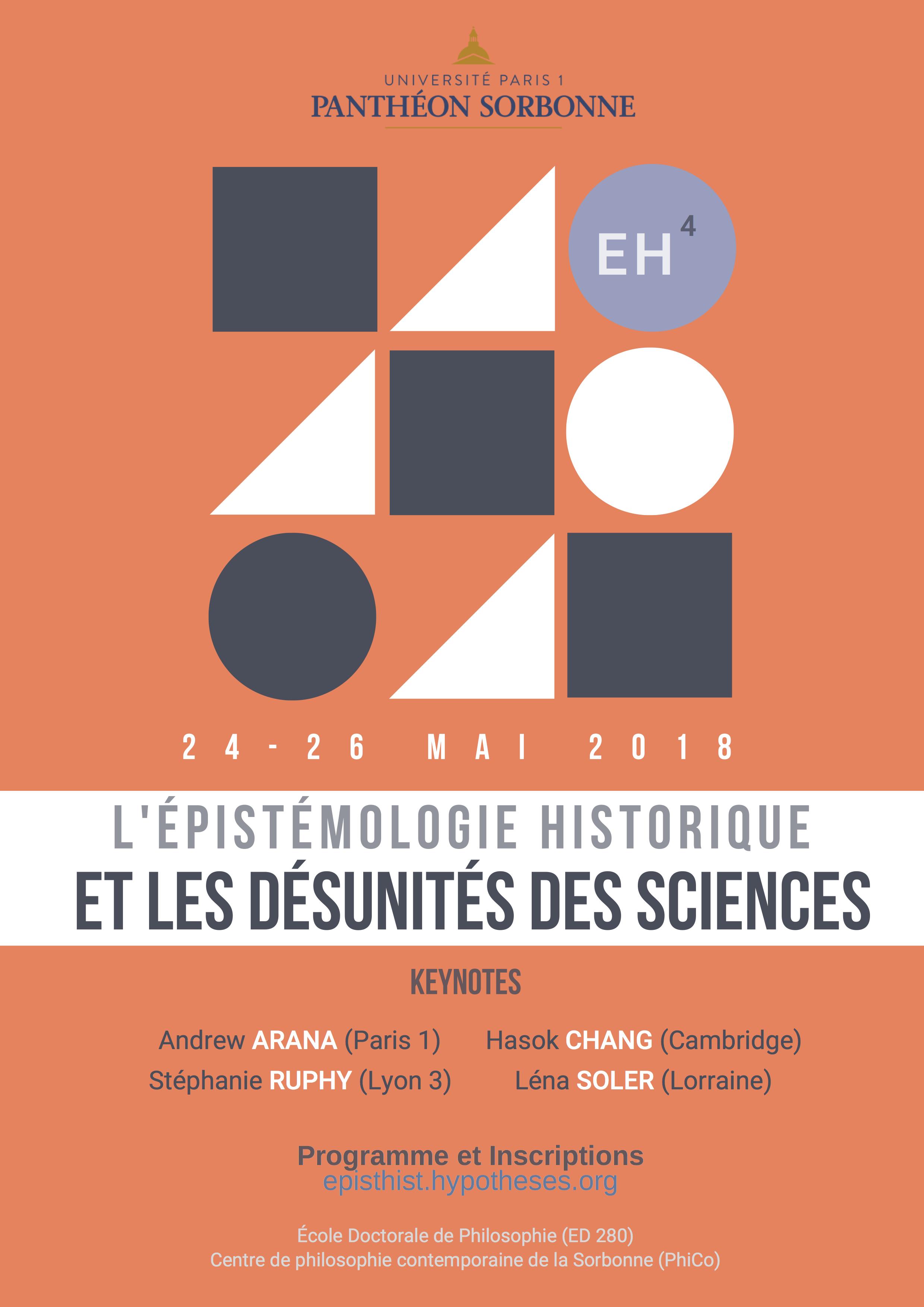 Comment Savoir Si Induction 4èmes journées sur l'Épistémologie historique, 24-25-26 mai